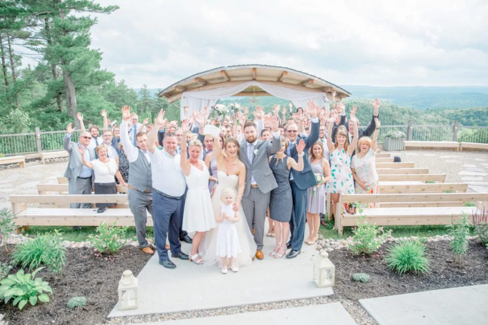 Group Family Photo - Wedding Day Fun - Pick All the People you love - Le Belvedere - Grey Loft Studio
