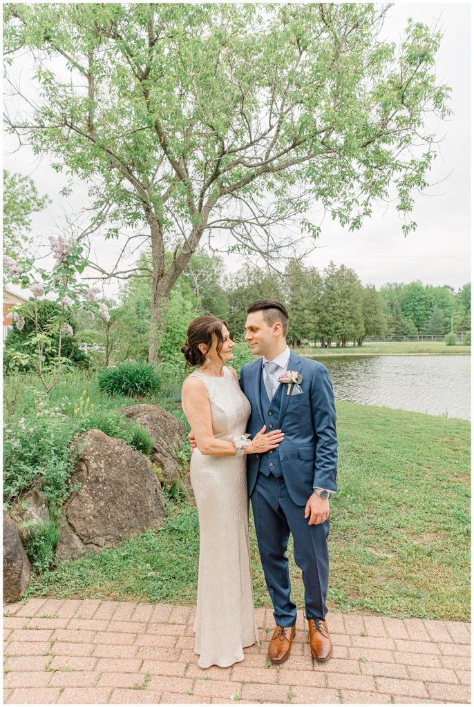 Mom & Son - Italian & Chinese Family - Wedding - Lisa & Pat - Grey Loft Studio - Wedding Photo & Video Team - Light and Airy - Ottawa Wedding Photographer & Videographer Orchard View Weddings