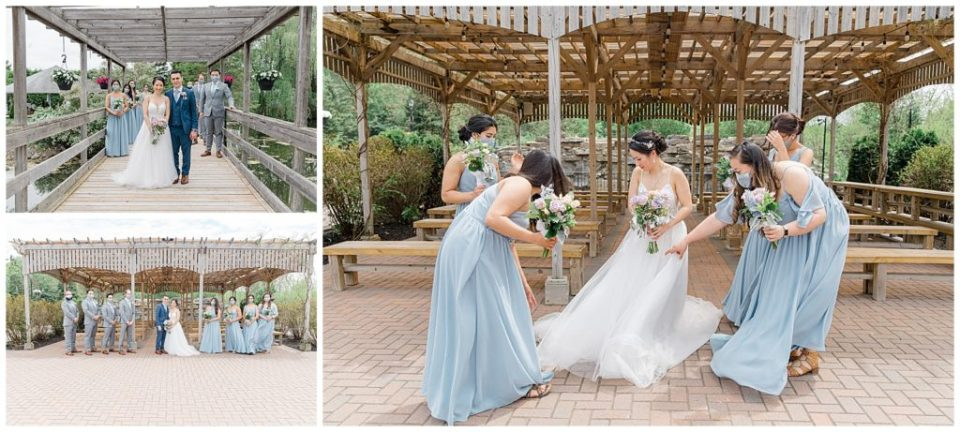 Bridal Party Photos - Orchard View