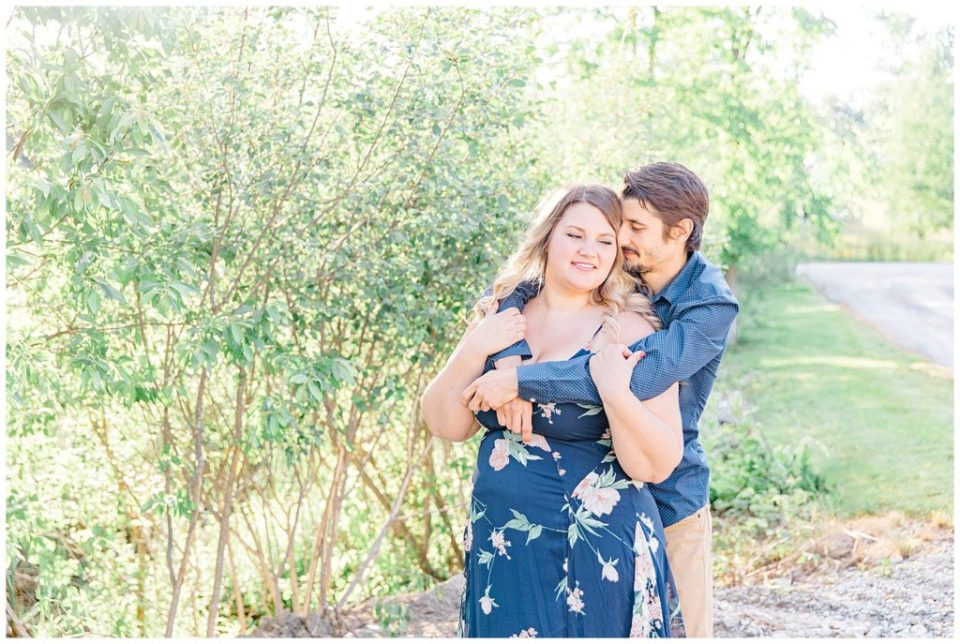 Sunset Engagement Session - Backyard Carp - Engagement Photo - Ottawa Wedding Photographer - Grey Loft Studio