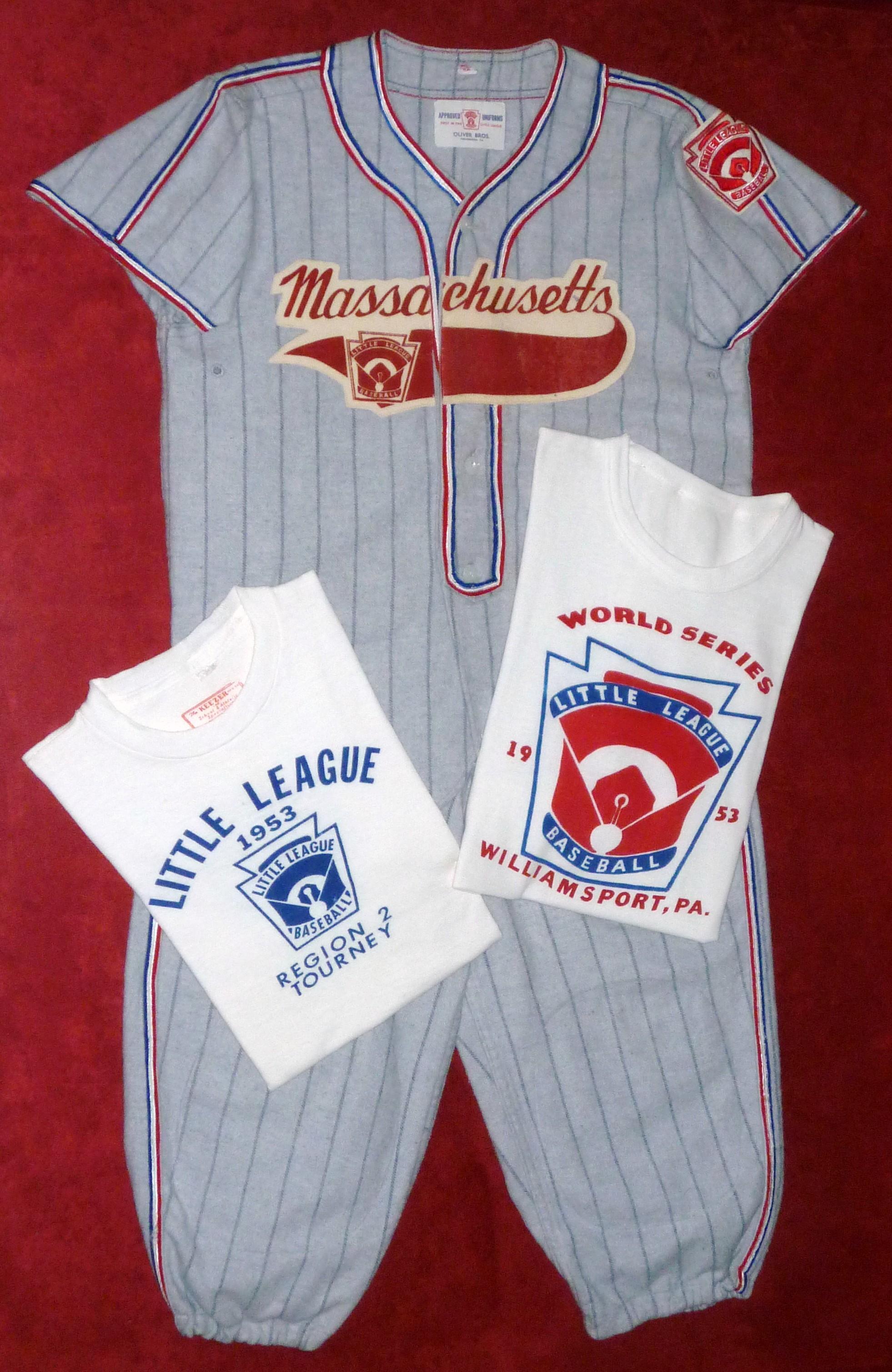 My Father's Little League World Series Uniform - 1953