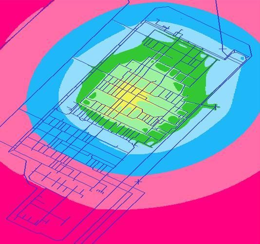 CDEGS Earthing Software Sample plot
