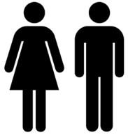 Otl Aicher - 1972 Munich Olympics bathroom icons