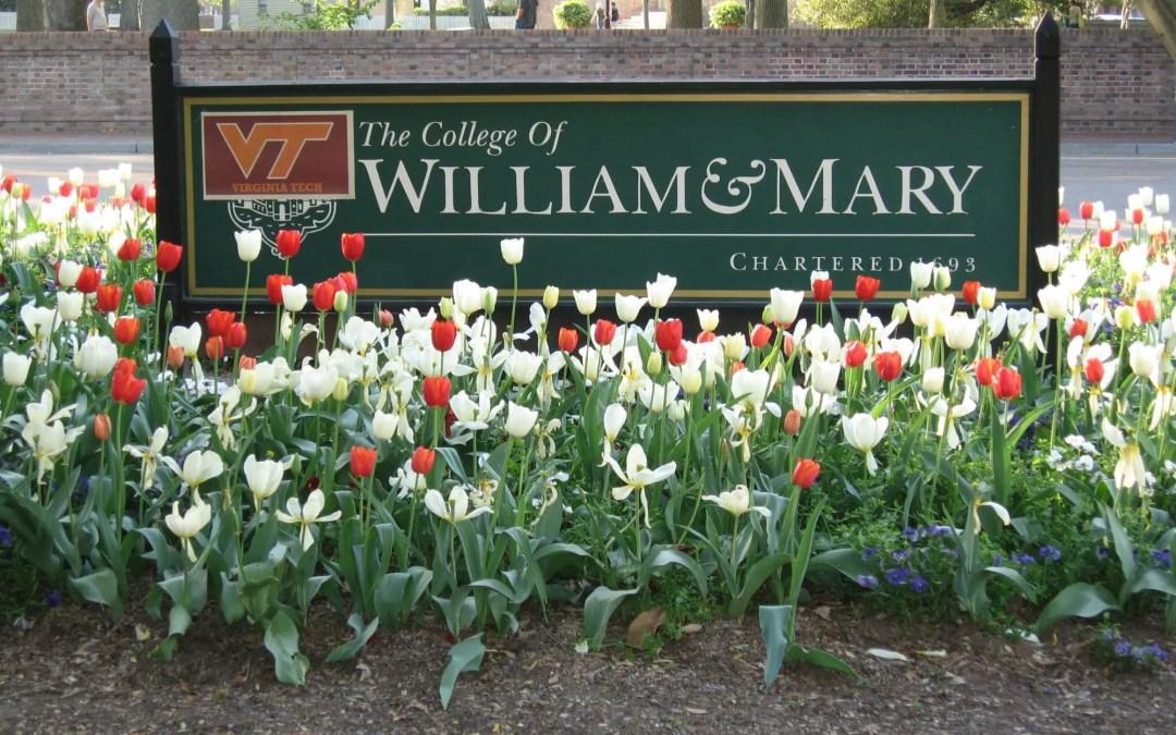 College of William and Mary, Williamsburg, VA