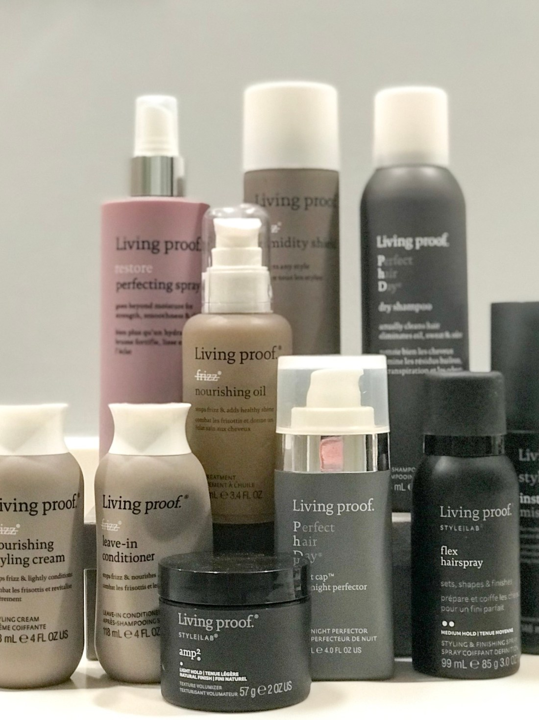 My favorite Living Proof products