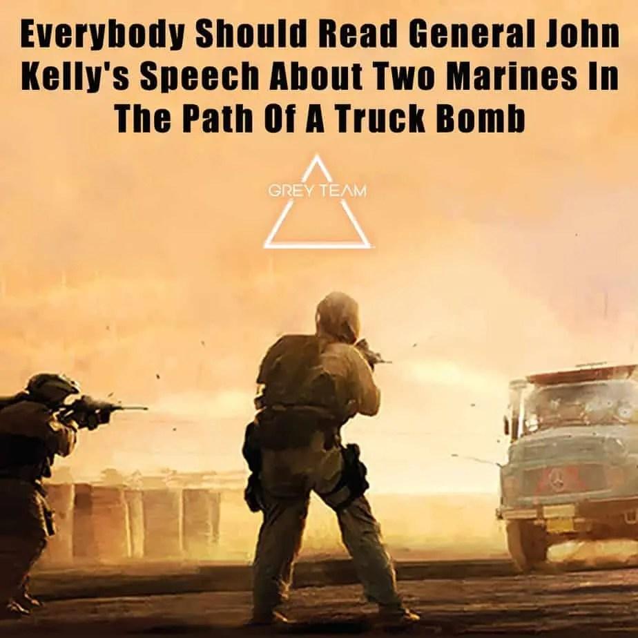 Grey Team Tribute To General John Kelly