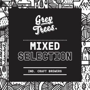 Pump Clip for Grey Trees' Mixed Selection Box of Beers