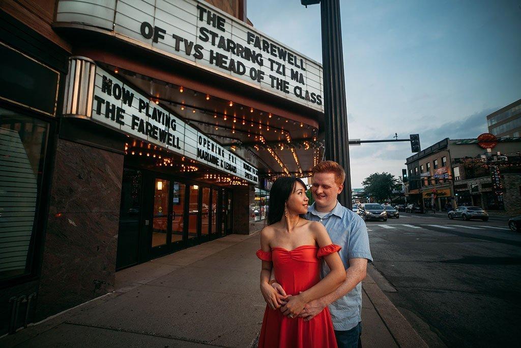 Uptown Theater Minneapolis Lifestyle Photography, Minnesota Wedding Photographers, Saint Paul Photography
