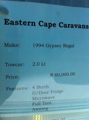 Eastern Cape Caravans