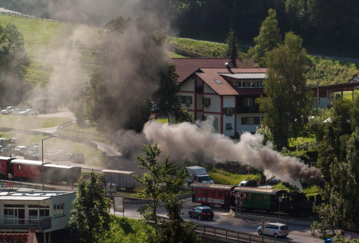 Steam Train Murau