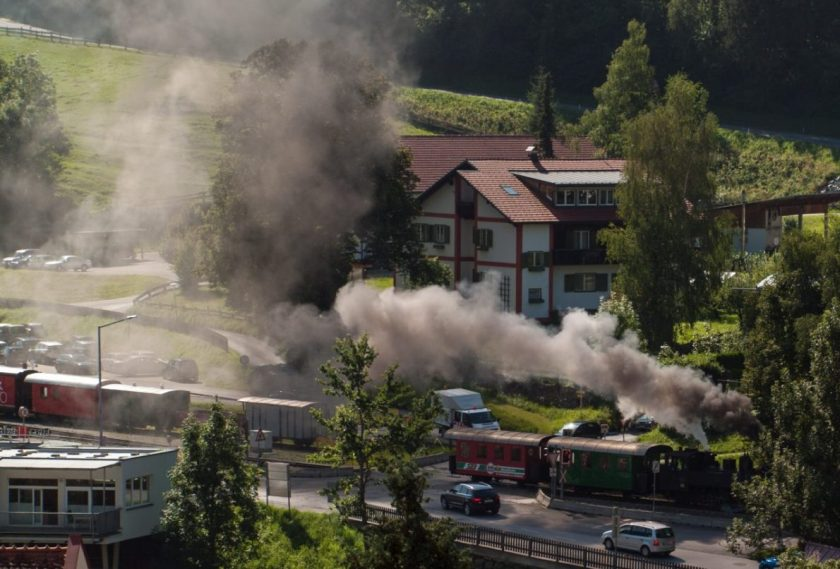 Steam Train Murau