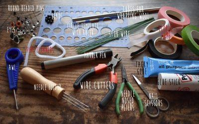 Needle felting for beginners – Equipment