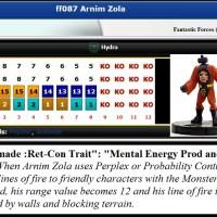 """Marvel HeroClix """"ReClix"""" Wish-List & Ret-Con (FANTASTIC FORCES, 2005): Arnim Zola (v11.2)"""