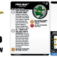Marvel HeroClix: Superior Foes of Spider-Man - Frog-Man - HeroClix by Wizkids Games