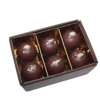 tartufi di cioccolato crudo senza zucchero