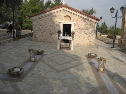 στολισμός γάμου στη Πάρνηθα