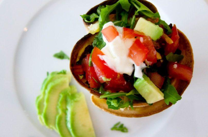 Mexíkóskar taco skálar