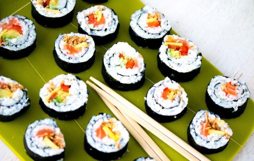 Sushi í veisluna