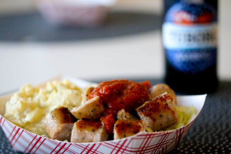 Currywurst fyrir frábæra stemmningu í góðum félagsskap