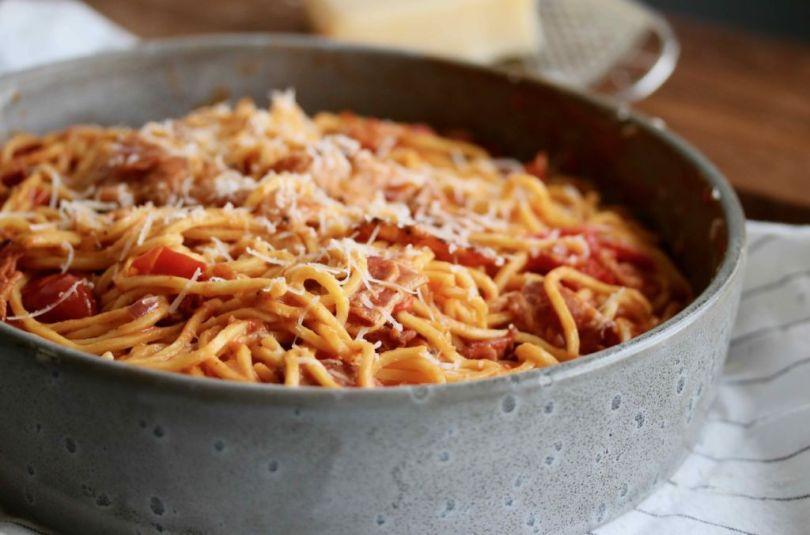 Spaghetti að hætti rómverja