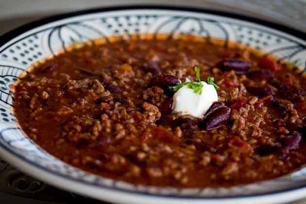 Einfalt og bragðgott chilí con carne