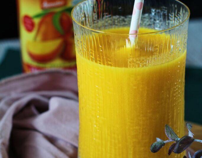 Sumarlegur mangó þeytingur