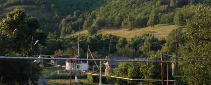 Село Ягодная Поляна Саратовской области.
