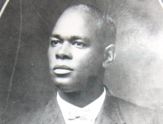 Professor William James honored by Bulloch County Historical Society