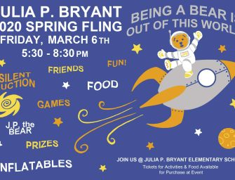 Julia P. Bryant Annual Spring Fling – Friday, March 6th
