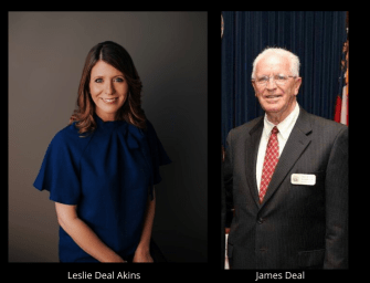 Tax Commissioner Deal Retiring, Leslie Akins Announces Candidacy