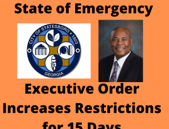 Mayor Expands Emergency Order at Request of Statesboro Doctors