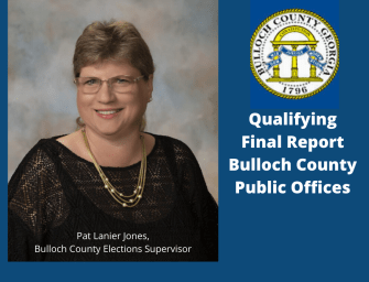 Jones Final Report For Bulloch County Election Qualifying