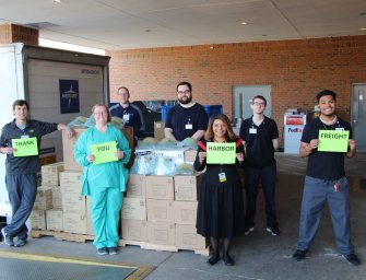 Harbor Freight Tools Donates Supplies to EGRMC
