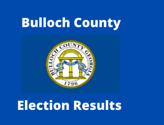 Bulloch County General Primary Election Results