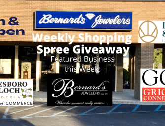 Bernard's Jewelers $350 Shopping Spree Giveaway – WATCH NOW!