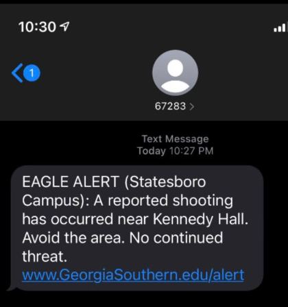reported shooting