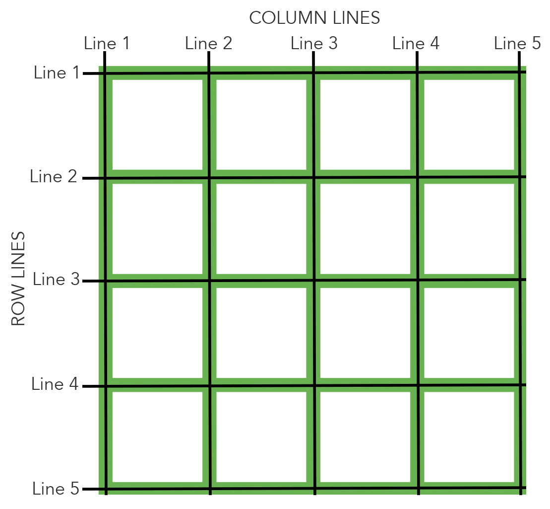 Layout With Grid Lines