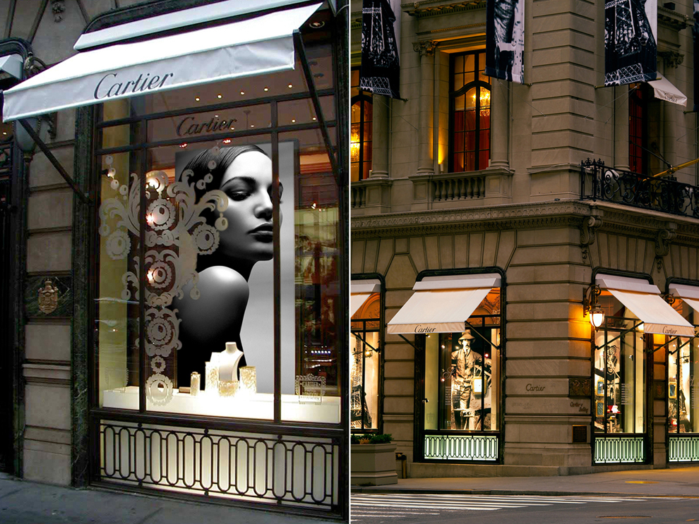 Cartier Jewelry Retail Store Consulting Environments