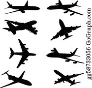 Airplane Clip Art Royalty Free Gograph