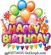birthday party invitation clip art