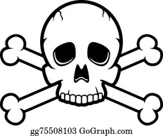 Skull And Crossbones Clip Art Royalty Free Gograph