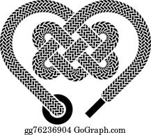 Download Vector Clipart - Celtic knot rune bound hearts infinity ...