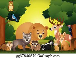 The african forest elephant is a herbivorous animal meaning that it only eats plants and other vegetation. Forest Animal Clip Art Royalty Free Gograph