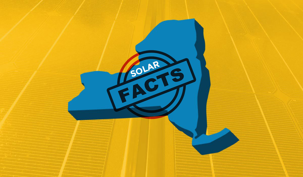 Facts about solar in New York - Top 10 Myths Busted