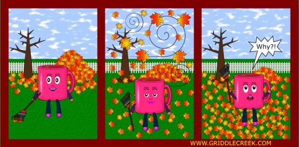 Design fall leaves