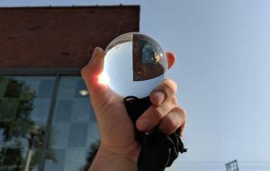 80mm original lensball size