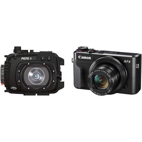 fantasea canon g7x underwater camera housings
