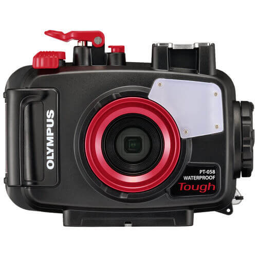 olympus point and shoot underwater camera housing