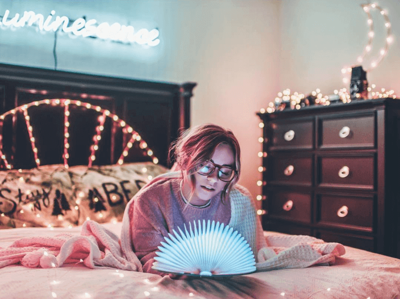LED Folding book light woelfel