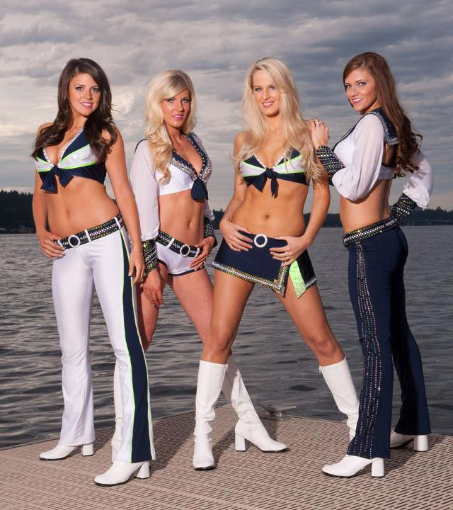 Sea Gals Cheerleader Gallery Gridiron Experts